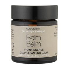 Balm Balm Frankincense Deep Cleansing Balm 100% Organic 30ml
