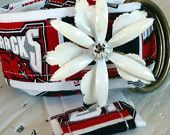 Girls University of Arkansas Flower Power Belt