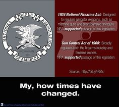 """Back then, the NRA was actually sane.  Now NRA means """"Not Relevant Anymore."""""""