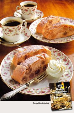 """Grape Cake –Druekake - A recipe from """"Kaker Til Kaffen"""" (Cakes For The Coffee) published by a Norwegian family weekly's book club in 1979"""
