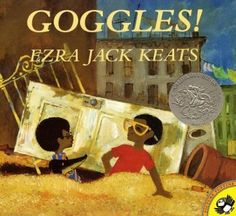 1970 Honor: Ezra Jack Keats featured African-American characters again with Goggles! And did you know the man who probably did more than any other to bring multiculturalism to children's books has a foundation? Learn more at www.ezra-jack-keats.org/introduction