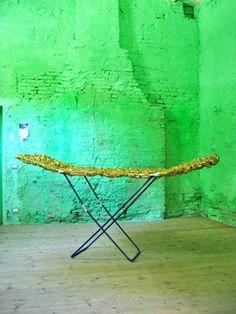 "Saatchi Art Artist Wilhelm Roseneder; Sculpture, ""Goldene Erweiterung II/Golden Expansion II"" #art Verona, Everyday Objects, The Expanse, Saatchi Art, Sculptures, Art Prints, Canvas, Home Decor, Extensions"