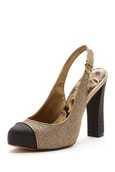 Slingback Pump - this is a heel that I could actually walk in