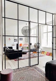 12 great uses of glass walls - French By Design