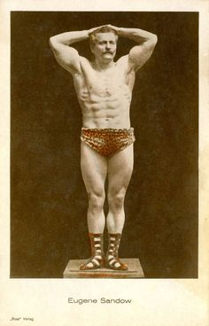 From the father of bodybuilding himself, Eugen Sandow, to Charles Atlas, see how professional bodybuilders liked to show off in the Catch Wrestling, Muscle Men, Vintage Photos, Bodybuilding, Fitness Motivation, German, Ghana, Victorian, Google Search