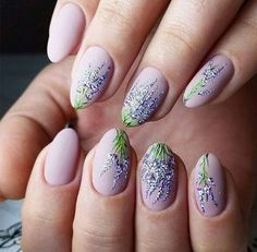 40 Spring nails design and ideas with flowers #bright #colors #floral #springnailart #PopularNailShapes #springnails