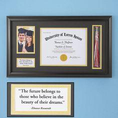 graduation diploma frame idea miscellaneous stuff pinterest