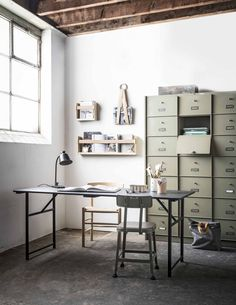 Vintage industrial decor – Eclectic Home Decor Today
