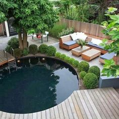 Having a pool sounds awesome especially if you are working with the best backyard pool landscaping ideas there is. How you design a proper backyard with a pool matters. Outdoor Rooms, Outdoor Gardens, Outdoor Living, Rooftop Gardens, Outdoor Seating, Outdoor Pergola, Garden Ideas To Make, Garden Tips, Gazebos