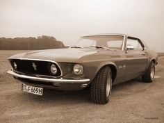 1969 Ford Mustang, I had one of these, my first car, but convertable. :)