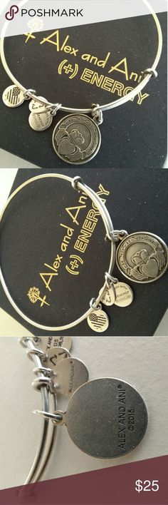 Alex & Ani    Irish Claddagh 100% Authentic Silvertone. Does not come with a box. Alex & Ani Jewelry Bracelets