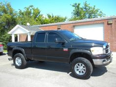 Cars for Sale: Used 2008 Dodge Ram 2500 Truck in 4x4 Quad Cab SLT, SHELBYVILLE…