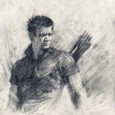 Hawkeye. Cool but it doesn't really look like Jeremy Renner.