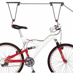 aparejo cuelga bicicletas para techos garages o livings