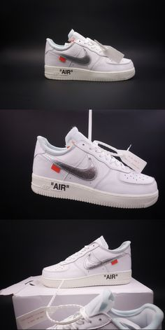 Best Quality UA Nike Air Force 1  07 Off White Virgil White Sneaker For  Sale Online 6953d2d7297d