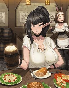 Check out the best anime oppai ecchi images, pictures and wallpaper Anime Sexy, Thicc Anime, Anime Fairy, Chica Anime Manga, Manga Girl, Fan Art Anime, Anime Art Girl, Anime Girls, Character Art