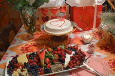 Valentine's Day Party Food Table