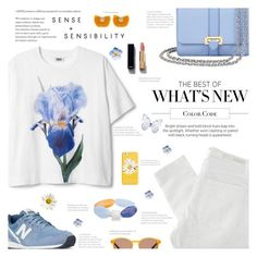 """Blue Breeze"" by r-maggie ❤ liked on Polyvore featuring Nobody Denim, Aspinal of London, New Balance, John Lewis, Chanel, Katerina Makriyianni and Kate Spade"