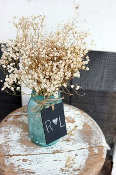 decoratie bruiloft krijt