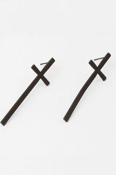 Simple Style Cross Shaped Earring $14.00