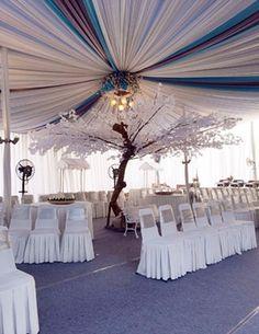 Pembuat Plafon Dekor Pernikahan AzkaJaya Tenda Menerima Pembuatan Dan Penjualan Dekorasi Palfon Garis