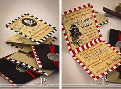 Pirate party invitation #invitation #pirates