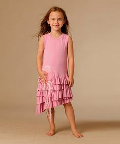 Another great find on #zulily! Party Pink Mia Dress - Toddler & Girls by KidCuteTure #zulilyfinds