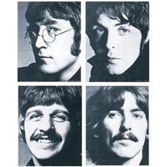 The Beatles, photo set by Richard Avedon, 1969