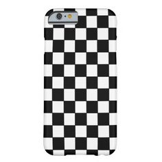Shop Black and White Checked Classic Pattern Case-Mate iPhone Case created by stdjura. Iphone T, Iphone Case Covers, White Iphone, Electronic Gifts, Plastic Case, Queen Chess, Black White, Checkered Flag, Special Promotion