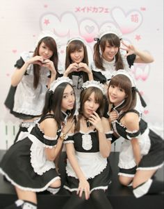 "We ""heart"" you at My Maid Cafe : )"