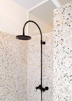 terrazzo flooring Inspiration dco : 20 i - Terrazzo, Interior Design Blogs, Bathroom Interior Design, French Kitchen Decor, Appartement Design, Bathroom Renovations, Bathroom Ideas, Remodled Bathrooms, Bathroom Trends