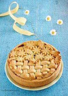 Crostata con crema di ricotta, frolla di Michel Roux | Cucchiaio e Pentolone