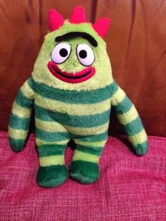 "Brobee 12"" Yo Gabba Gabba Plush Stuffed Animal Lovey"