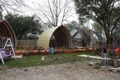 Arched-Cabins $4000 -possible accommodation- could get funding?