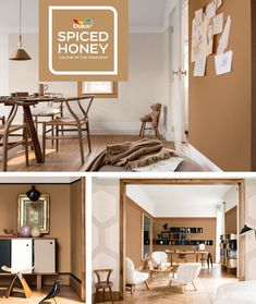 Dulux Spiced Honey - Colour of the year 2019