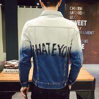 Más el tamaño 5xl moda hombres chaqueta de mezclilla otoño casual jeans para hombre escudo chaquetas hombre jaqueta masculina brand clothing