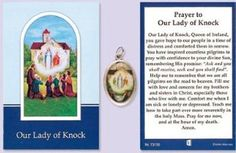 novena to our lady of knock Saint Christopher, Prayer Cards, St Francis, All Saints, Our Lady, Pilgrim, Knock Knock, Booklet, Geography