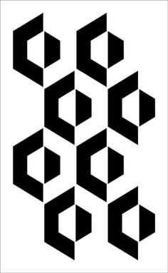 Geometric stencils from The Stencil Library. Stencil catalogue quick view page 9.