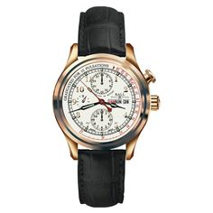 This is an amazingly unique Ball Watch. For more, visit http://www.desiresbymikolay.com/collections/ball-watch/products/ball-watch-trainmaster-doctors-chronograph