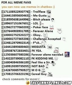 Troll Smileys On Facebook!  For All Meme Fans! (:
