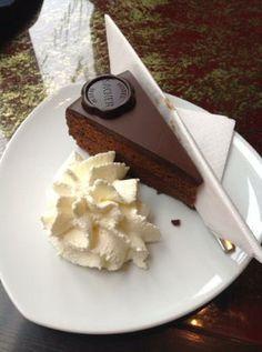 (AB) Cafe Sacher (@ Hotel Sacher Wien), Sacher Torte.  Philharmonikerstrasse 4, 1010 Vienna, Austria