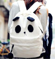 Cute Panda Backpack for Adorable Hot Girls