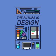 Been saying this for a while now.  #Repost @almigor  The Future is Design ________________________________________________ #design #illustration #draw #sketch #dribbble #colorful #colorpalette #palettes #vector #pen #minimal #pencil #art #mouse #linework #pirategraphic #graphicroozane #creative #line #inspiration #materialdesign #pencildrawing #logo #colorpalette #vector #iconaday #wacom #drawingbook #sketchbook by straightnarrowdesignco