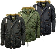 Mens Tokyo Lee Kenedy Fishtail Parka Coat / Jacket To Help For Heroes Charity