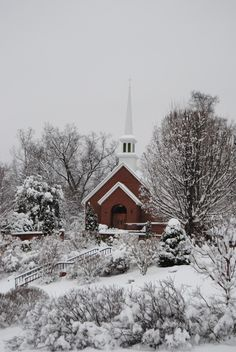 Church in the winter