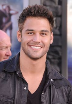 We're going to assume that just like us you developed a giant crush on Ryan Guzman after he starred in The Boy Next Door with Jennifer Lopez — because Beautiful Men Faces, Beautiful Smile, Gorgeous Men, Ryan Guzman, Older Mens Hairstyles, Trendy Hairstyles, Handsome Faces, Handsome Man, Attractive Men