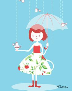How to make tea in the rain <3
