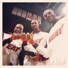 Miami Heat #NBA Champions