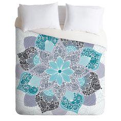 Valentina Ramos Petunia Mandala Duvet Cover | DENY Designs Home Accessories