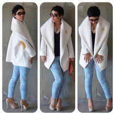 Today's Post: OOTD #DIY Coat, Skinnies & Pattern Review